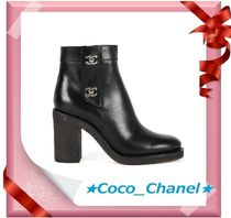CHANEL Leather Boots Boots
