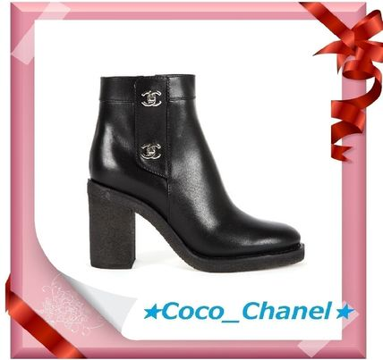 CHANEL More Boots Leather Boots Boots