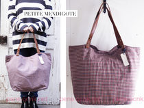 petite mendigote Other Check Patterns Street Style A4 2WAY Totes