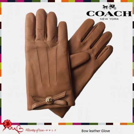 Coach Leather Gloves Gloves