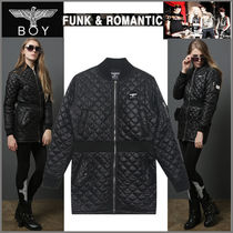 BOY LONDON Studded Medium Varsity Jackets