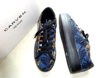 CARVEN Collaboration Low-Top Sneakers