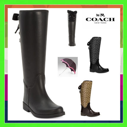 Coach Over-the-Knee Boots