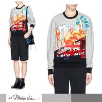 3.1 Phillip Lim Short Long Sleeves Cotton Cropped