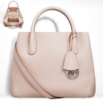 Christian Dior Calfskin 2WAY Plain Party Style Totes