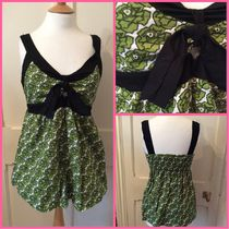 Primark Ruby Roks UK  Green Rose pattern camisole tops