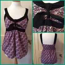 Primark Ruby Rocks UK Pink Rose patterned camisole