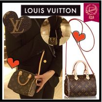 Louis Vuitton SPEEDY Monoglam 2WAY Party Style Shoulder Bags