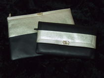 CHANEL BOY CHANEL Leather Clutches