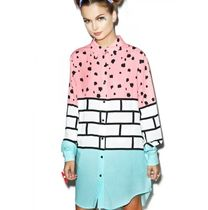LAZY OAF LAZY OAF ∞ BRICK SCRIBBLE SHIRT