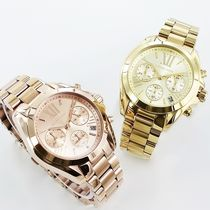 Michael Kors Casual Style Round Quartz Watches Bridal Analog Watches