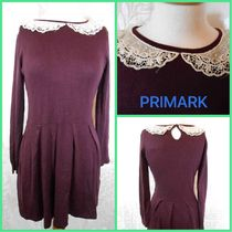 Primark PRIMARK UK Peter Pan Lace Collar Knitted Dress