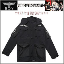 BOY LONDON Studded Long Varsity Jackets