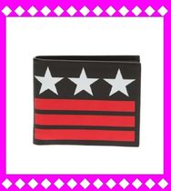 GIVENCHY Star Leather Folding Wallets