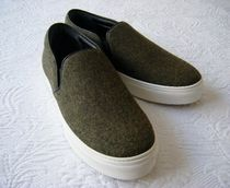CELINE Plain Slip-On Shoes