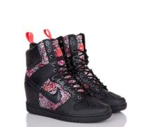 Nike DUNK Flower Patterns Paisley Wedge Platform & Wedge Sneakers