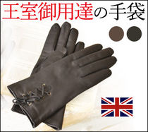Cornelia James Leather Leather & Faux Leather Gloves