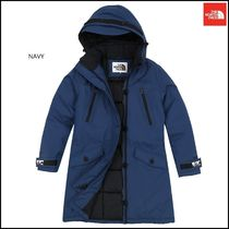 THE NORTH FACE Argile Wool Street Style Collaboration Plain Medium Jackets