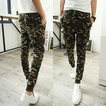 Camouflage Street Style Cotton Bottoms