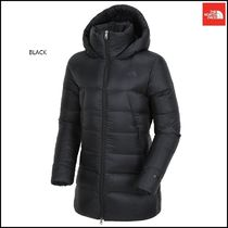 THE NORTH FACE Argile Wool Street Style Collaboration Plain Long