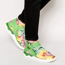 adidas TUBULAR Flower Patterns Street Style Leather Sneakers