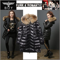 BOY LONDON Fur Studded Medium Varsity Jackets