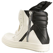 RICK OWENS Street Style Leather Sneakers
