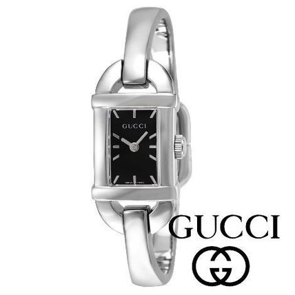 GUCCI Square Quartz Watches Analog Watches