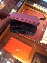 HERMES Silk In Plain Leather Long Wallet  Small Wallet Bridal