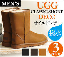 UGG Australia CLASSIC SHORT Leather Boots