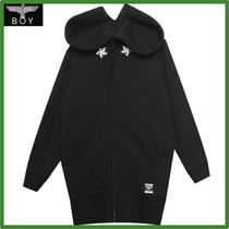 BOY LONDON Star Street Style Long Jackets