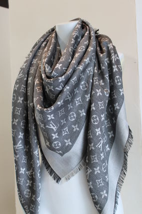 Louis Vuitton MONOGRAM Lightweight Scarves & Shawls