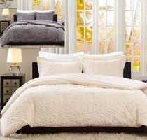MADISON PARK Plain Pillowcases Duvet Covers