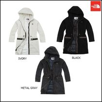 THE NORTH FACE Argile Wool Plain Long Party Style Jackets