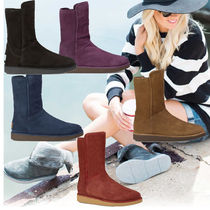 UGG Australia ABREE SHORT Sheepskin Plain Boots Boots