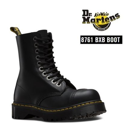 Dr. Martens 8761 BXB thick bottom steel toe boots