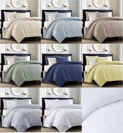 MADISON PARK Plain Duvet Covers Pillowcases Duvet Covers