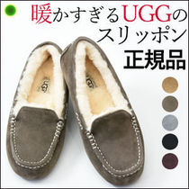 UGG Australia ANSLEY Moccasin Suede Shoes