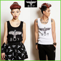 BOY LONDON Street Style Other Animal Patterns Cotton Tanks