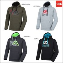THE NORTH FACE Pullovers Argile Street Style Boat Neck Long Sleeves Plain
