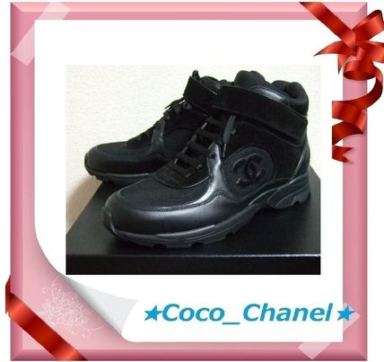 CHANEL Sneakers Leather Sneakers
