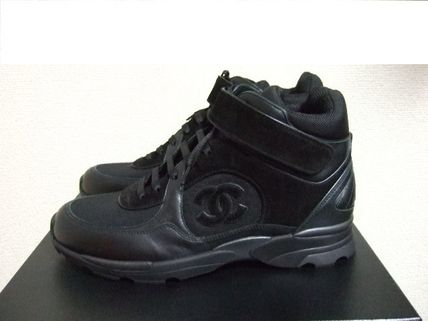 CHANEL Sneakers Leather Sneakers 2