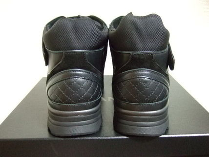 CHANEL Sneakers Leather Sneakers 4