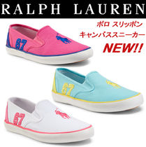 Ralph Lauren 【Ralph Lauren】VENUS SLIP-ON SNEAKER / 3 colors