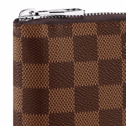 Louis Vuitton Long Wallets Other Check Patterns Leather Long Wallets 2