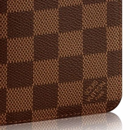 Louis Vuitton Long Wallets Other Check Patterns Leather Long Wallets 4