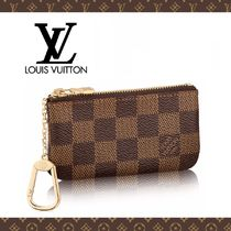 Louis Vuitton Other Check Patterns Canvas Coin Purses