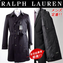 Ralph Lauren Plain Long Trench Coats