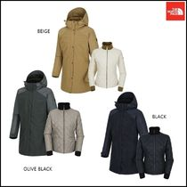 THE NORTH FACE Argile Wool Street Style Plain Long Jackets