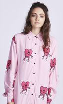 LAZY OAF Lazy Oaf RUNNING HEARTS SHIRT